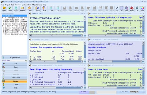 Eurobeam Eurocode Based Beam Design Software Free Demo Version